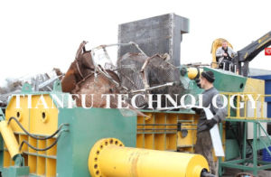 Y81f-2500 Hydraulic Automatic Scrap Metal Press Machine pictures & photos