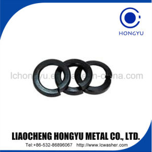 """1/4"""" Spring Lock Washer of Black Coating pictures & photos"""