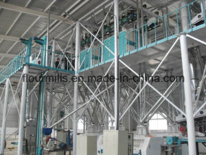 Hot Sale 50-500ton Fully Automatic Maize Flour Milling Machine pictures & photos