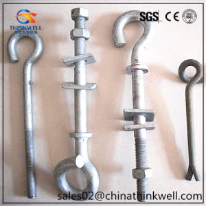 Forged Hook Bolt Guy Hook for Overhead Line Fittings pictures & photos