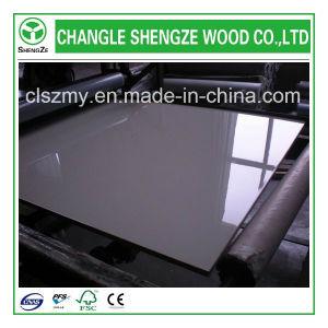 Furniture Grade 16mm Titanium White Color UV MDF pictures & photos