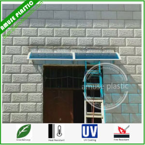 Aluminum Brackets Strong Blue Building Engineer Plastic Polycarbonate Door Awning pictures & photos