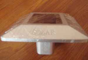 a Standard Block Aluminium Pavement Solar Cat Maker Road Stud pictures & photos