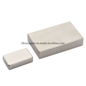 Permanent NdFeB Sintered Neodymium Block Magnet N45 pictures & photos