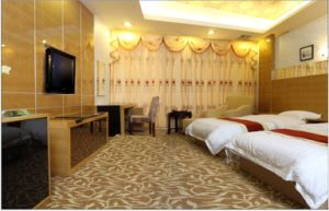 Hotel Bedroom Furniture/Luxury Double Bedroom Furniture/Standard Hotel Double Bedroom Suite/Double Hospitality Guest Room Furniture (CHN-007) pictures & photos