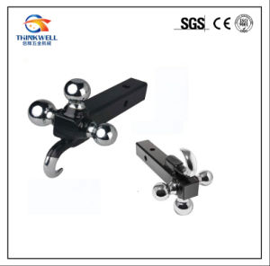 Black Powder Coated Multi-Ball Mount Tow Hook for Hitch pictures & photos