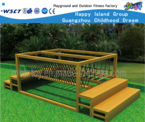 Outdoor Gym Wooden Bridge Balance Training Equipment Hf-17602 pictures & photos