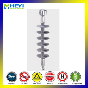 24kv Ball Socket End Fitting Polymer Suspension Composite Insulator pictures & photos