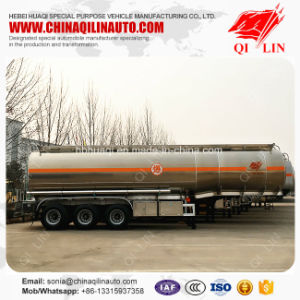 Cheap Price Total Weight 40t Oil Tank Semi Trailer for Sale pictures & photos
