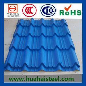 Color Coated Profiled Roofing Material Steel pictures & photos