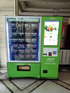 Large Screen Vending Machine with Conveyor Belt and Elevator D900V-11L (32SP) pictures & photos