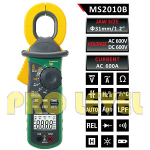 High Sensitivity AC Leakage Clamp Meter (MS2010B) pictures & photos