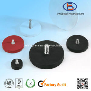 Original Factory of Colored Rubber Coated Pot Magnet Gripper pictures & photos