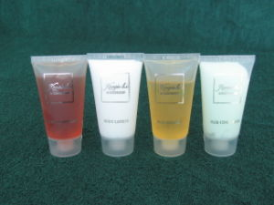 Hotel Cosmetic (shampoo, lotion, bath gel, conditioner)