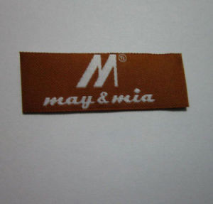 OEM New Design Bag Woven Label pictures & photos