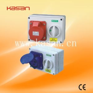 Socket with Interlock Switch, Industrial Plug & Socket pictures & photos