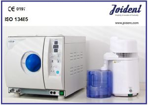 18L Hospital Steam Sterilizer Equipment with ISO13485