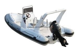 Aqualand 21feet 6.5m Rigid Inflatable Fishing Boat /Rib Motor Boat (RIB650C) pictures & photos