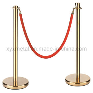 High Grade Hotel Hanging Rope Belt Barrier pictures & photos