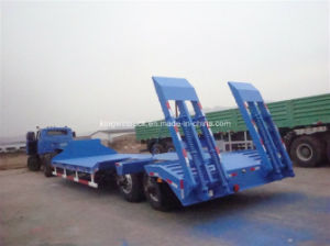 China for Excavator Transportation Low Bed Semi Trailer pictures & photos