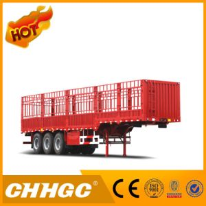 3 Axle Stake/Cargo Semi Trailer with High Tech