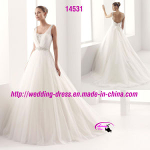 Passion Captivting Spaghetti Strap Gowns Dress with Beaded pictures & photos
