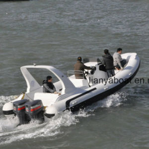 Liya 7.5m Military Rib Boats Inflatable Work Boats for Sale pictures & photos