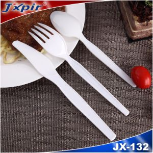New PS Plastic Reusable Disposable Cutlery (Assorted Colors) pictures & photos