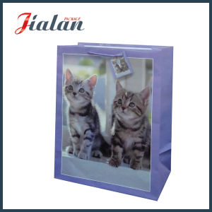 2016 Custom Design Logo Wholesales High Quality 3D Paper Bag pictures & photos