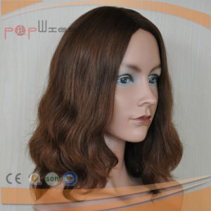 Brown Color Loose Wavy European Virgin Hair Wig (PPG-l-0312) pictures & photos