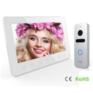 4 Wires 7 Inches Interphone Home Security Doorbell Video Doorphone pictures & photos