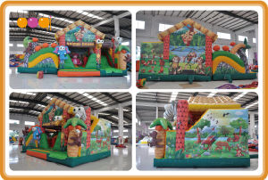 Animal House Inflatable Jumping Bouncer for Sale (AQ01709-1) pictures & photos