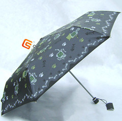 3-Folding Super Light UV Protection Windproof Umbrella (YS-3F10010A) pictures & photos