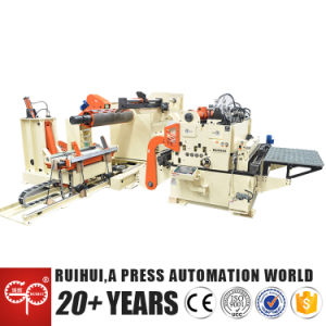 Straightener Feeder Contains Shearing Machine (MAC4-1600) pictures & photos