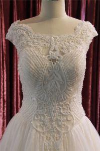 Heavy Beading Ball Bridal Wedding Dress pictures & photos
