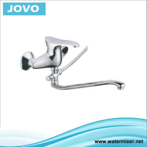 Sanitary Ware New Model Single Handle Wall-Mounted Kitchen Mixer&Faucet Jv73005 pictures & photos
