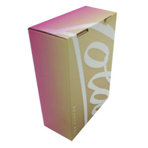 Matt Lamination Pink Packaging Gift Box pictures & photos
