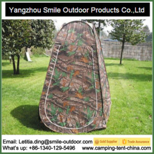 Shower Toilet Pop up Camouflage Changing Tent pictures & photos