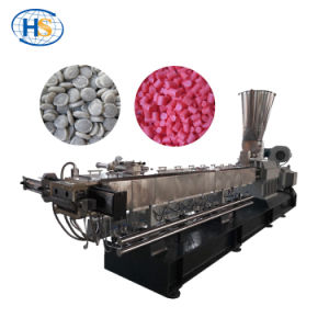 Ce Standard Twin Screw Extrusion Machine for Color Masterbatch pictures & photos