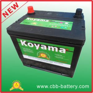 Koyama Brand New Design Bci85 Maintenance Free American Car Battery 12V60ah pictures & photos