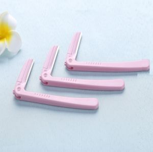 Cosmetic Simple Plastic Eyebrow Razor Professional pictures & photos