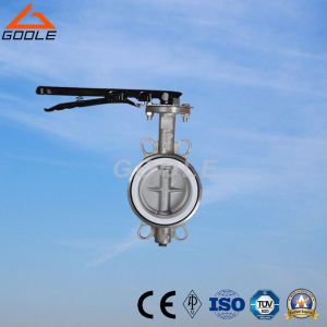 Manual Cast Iron Wafer Soft Seal Butterfly Valve (GAD71X) pictures & photos