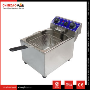 Double Tank Electric Deep Fry Machine Food Machinery Dzl-131b pictures & photos