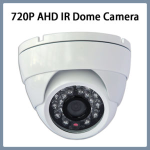 "1/4"" Ov9712 CMOS 720p Ahd IR Dome CCTV Security Camera pictures & photos"