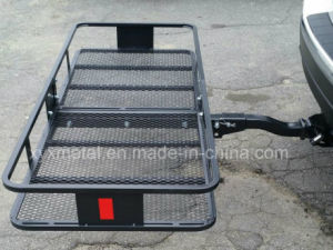 Folding Hitch Mount Cargo Basket Luggage Carrier Hauler Rack pictures & photos