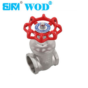 CE Ss304 Dn 50mm Gate Valve pictures & photos