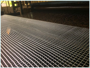 Low Elongation Fiberglass Geogrid for Expressway pictures & photos