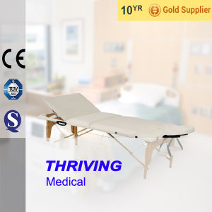 Wooden Portable Massage Bed (THR-WT006) pictures & photos