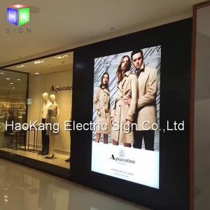 Ads LED Light Box Sign for Backlit Picture Frame Advertising Display Signboard pictures & photos