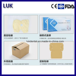 9 Inch Latex Medical Surgical Disposable Examination Gloves pictures & photos